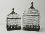 Kwadratowe klatki dla ptaków 3d model