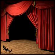 Teater scen 3d model
