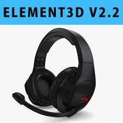 E3D-ゲーム用ヘッドセット 3d model