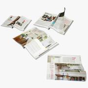 riviste 3d model