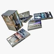 DVD Boxes 3d model