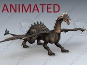 Dragon / Animated / AR / VR / Rig / Low Poly 3d model