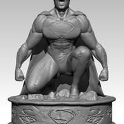 сверхчеловек 3d model