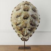 Sahte Kaplumbağa Kabuğu Heykeli 3d model