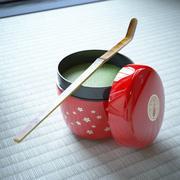 茶sha和茶童 3d model