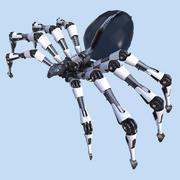 паук 3d model