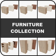 Collection de meubles 3d model