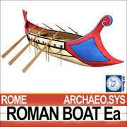 Bateau romain antique Ea 3d model
