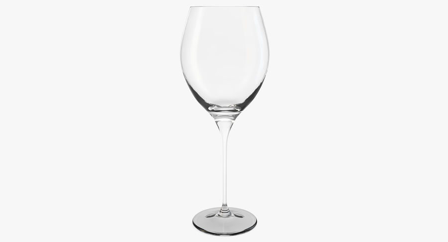 Бокал для вина royalty-free 3d model - Preview no. 2