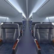 보잉 737 승객 실 3d model