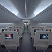 Boeing 737 Интерьер 3d model