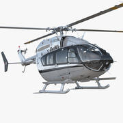 Light Utility Helicopter Eurocopter EC145 3d model