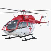Eurocopter EC145 Medikal Helikopter Arma 3d model