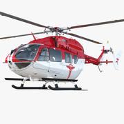 Eurocopter EC145 Medikal Helikopter 3d model