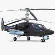 Kamov KA52 Black Shark 3d model