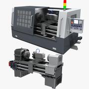 Machine-outil CNC 02 3d model