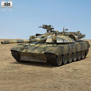 T-72 3d model