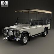 Land Rover Defender Safari Game Viewing 1990 3d model