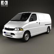 Toyota Hiace Panel Van 1995 3d model