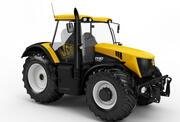 JCB Fastrac Tractor 7230 3d model