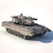 sci-fi_tank 3d model