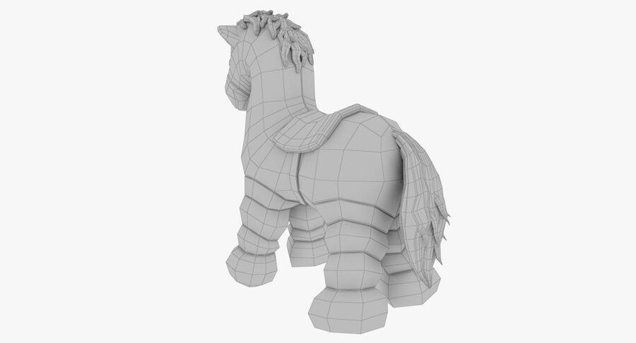 Fyllda leksaker royalty-free 3d model - Preview no. 45