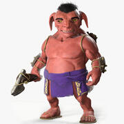 Tribal Goblin 3d model