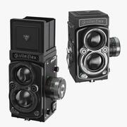 Rolleiflex 2.8 fx 카메라 닫힘 (2) 3d model