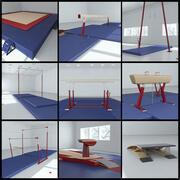 体操器材包 3d model