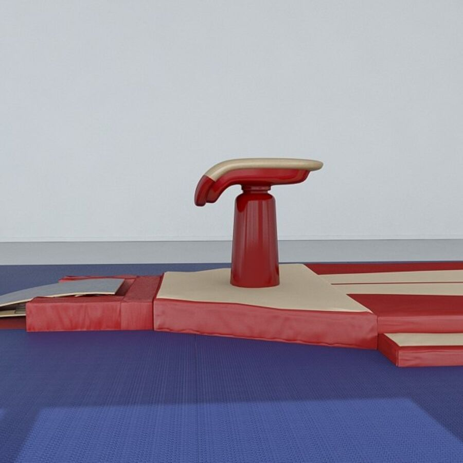 体操器材包 royalty-free 3d model - Preview no. 36