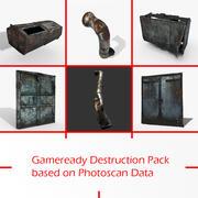 Destruction Pack (Photoscans) 3d model