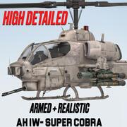 BELL AH-1 W SUPER COBRA 3d model