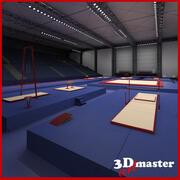 Jimnastik Arena 3d model