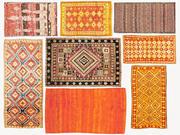 Teppich gewebter marokkanischer Jahrgang Vol. 07 3d model