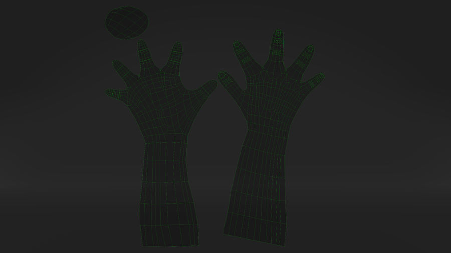 Realistic Hand-Rigged royalty-free 3d model - Preview no. 13