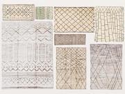 Teppich gewebter marokkanischer Jahrgang Vol. 04 3d model