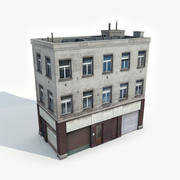 Apartment Building 8 3d model