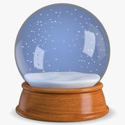 boule à neige 3d model