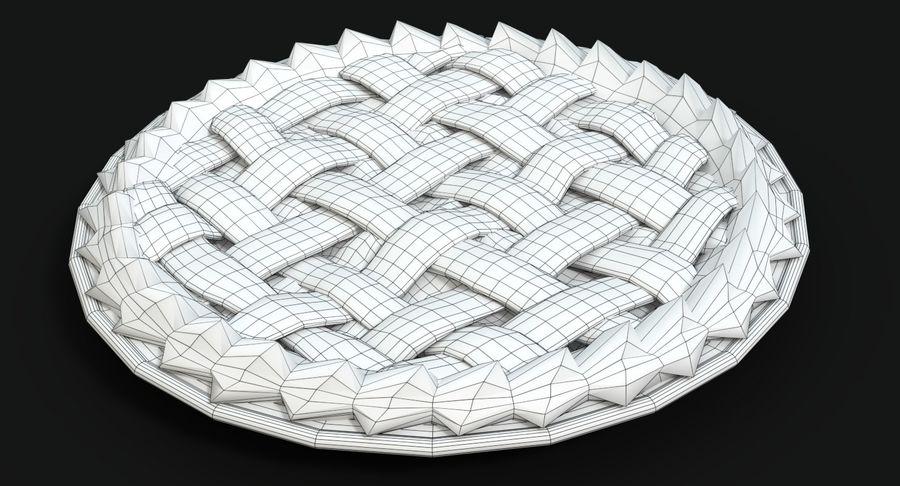 Яблочный пирог royalty-free 3d model - Preview no. 13