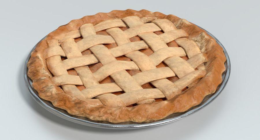 Яблочный пирог royalty-free 3d model - Preview no. 11