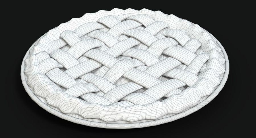 Яблочный пирог royalty-free 3d model - Preview no. 14