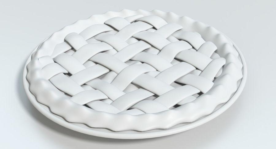 Яблочный пирог royalty-free 3d model - Preview no. 12