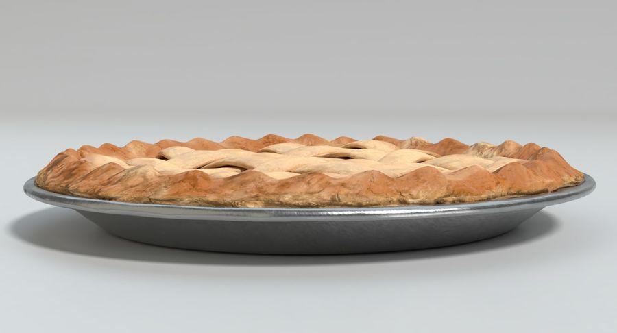 Яблочный пирог royalty-free 3d model - Preview no. 5