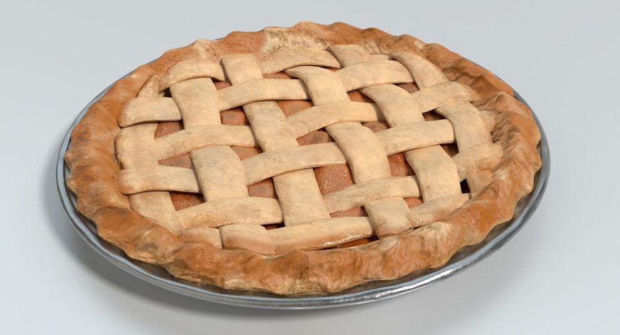 Яблочный пирог royalty-free 3d model - Preview no. 7