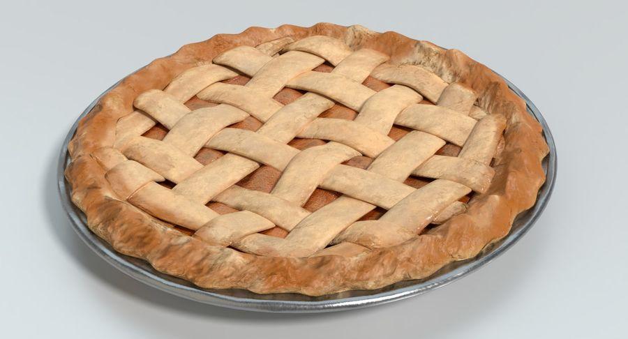 Яблочный пирог royalty-free 3d model - Preview no. 6