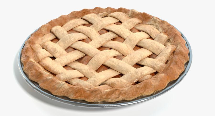 Яблочный пирог royalty-free 3d model - Preview no. 2