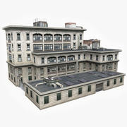 Factory Building VII 3d model