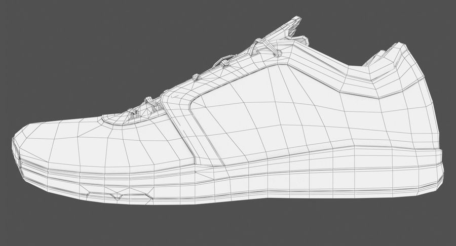 Sneakers royalty-free 3d model - Preview no. 14