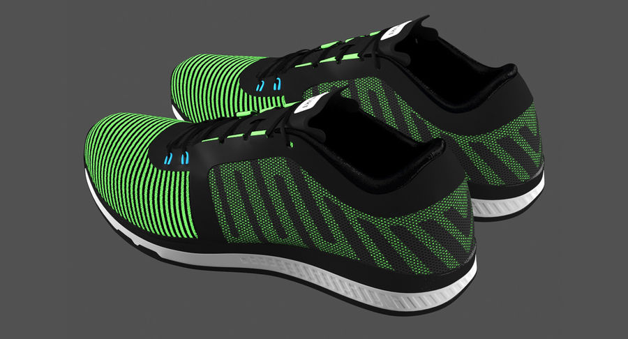 Sneakers royalty-free 3d model - Preview no. 5