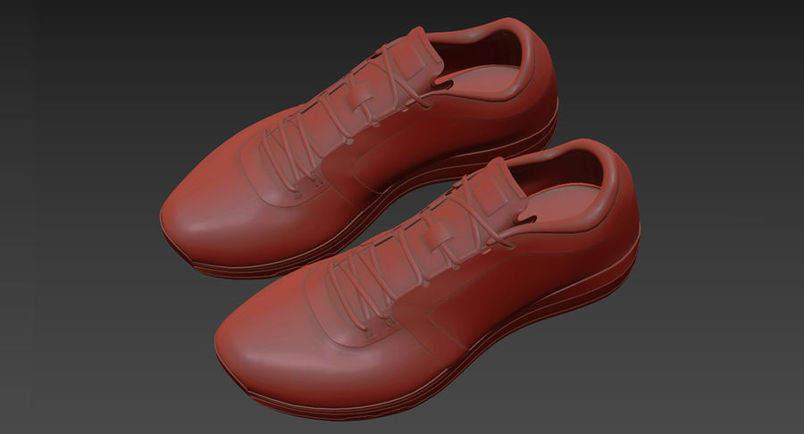 Sneakers royalty-free 3d model - Preview no. 18